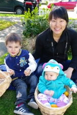 Manny, Avery and Auntie Jen