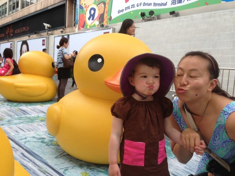 Duck face redux