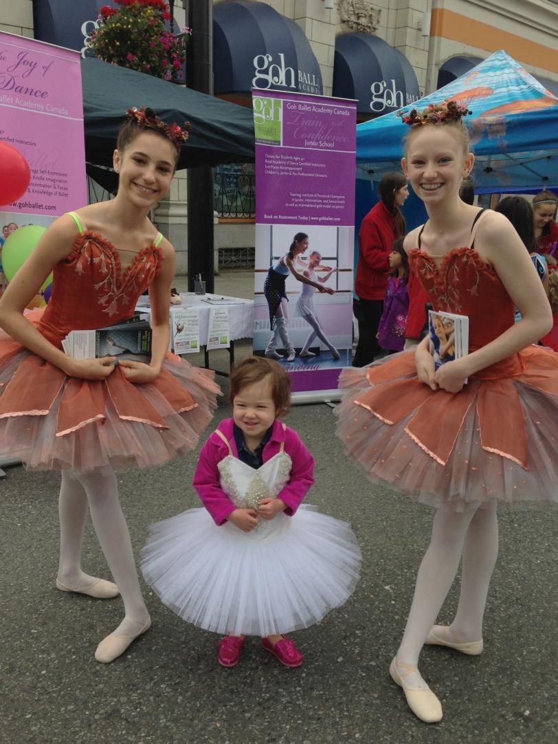 Future ballerina?