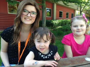 Brooke (cancer warrior), Addison and Grace (kidney transplant recipient)