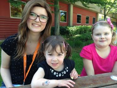 Brooke (cancer warrior), Addison and Grace (kidney transplant recipient)