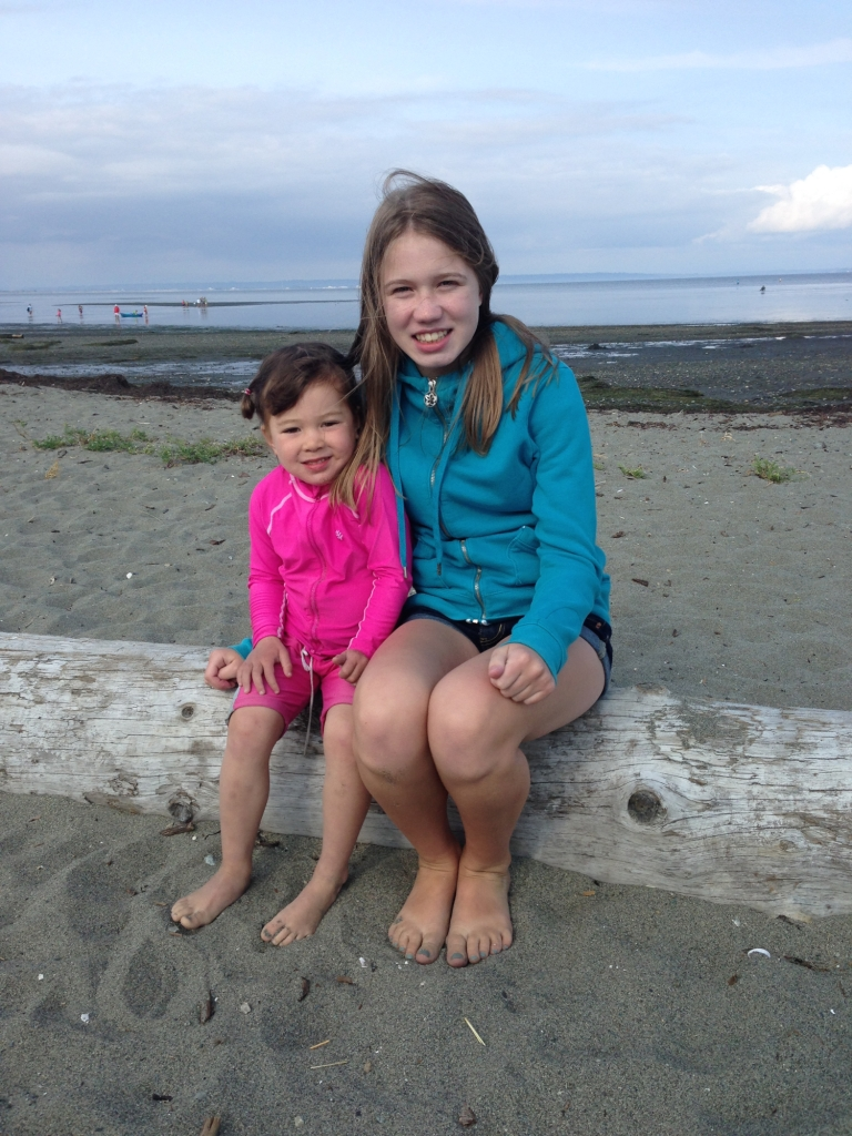 Addison and Brynn - 3 years and almost 13 years post transplant!