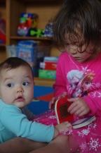 Reading to Amelia