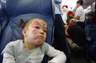 Flight in search of Santa