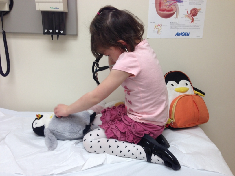 Patoo the penguin wasn't feeling very well...