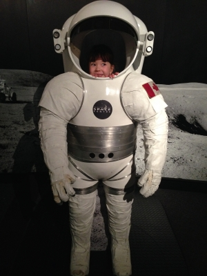 Thanks to my donor Audrey I can dream about going to outer space!