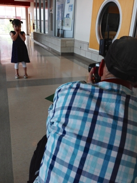Photo shoot for the BCCHF. I am such a ham.