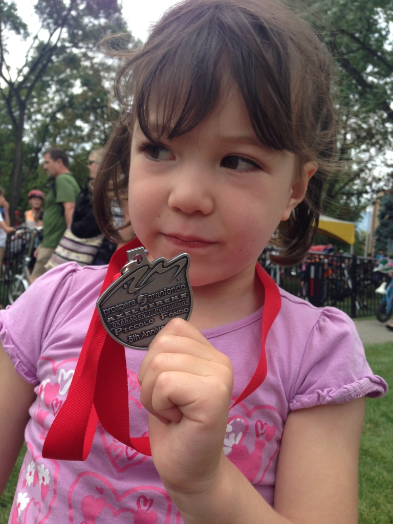 My first cycling medal!!