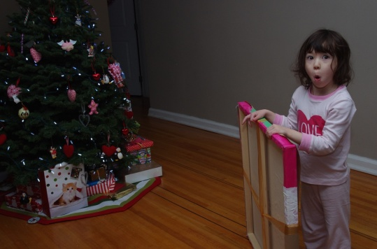 Addison's special present for us.
