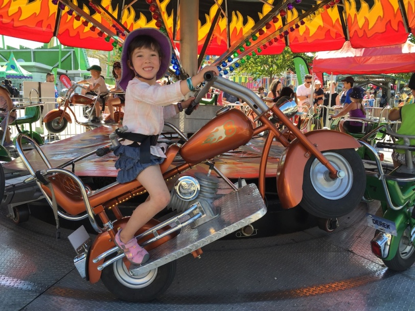 Love the motorcycle! (at the PNE)