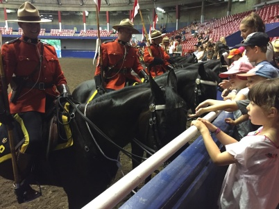 RCMP Musical Ride at the PNE
